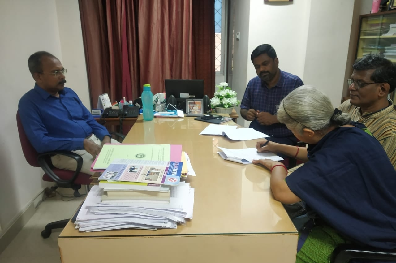 MoU with Mssw Chennai